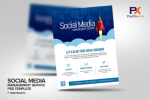 Social Media Management Service Flyer Template | Business with regard to Social Media Brochure Template