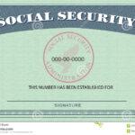 Social Security Card 650*452 – Social Security Card 24148416 Throughout Blank Social Security Card Template