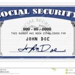 Social Security Card 650*479 – Social Security Card 4273859 Throughout Social Security Card Template Photoshop