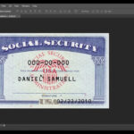 Social Security Card Template Download | Nurul Amal Pertaining To Social Security Card Template Download