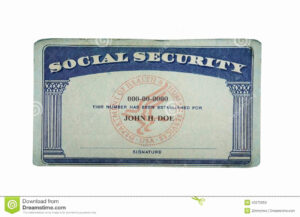 Social Security Card Template Pdf Beautiful Blank Social With Social Security Card Template Download