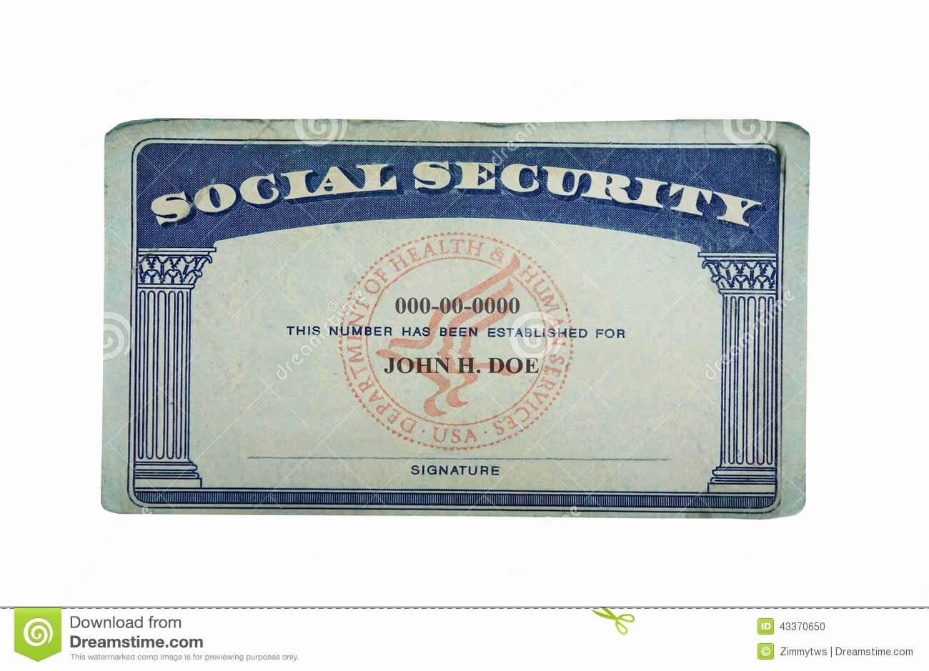 Social Security Card Template Pdf Beautiful Blank Social With Social Security Card Template Download