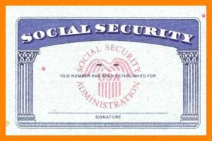 Social Security Card Template | Trafficfunnlr within Social Security Card Template Pdf