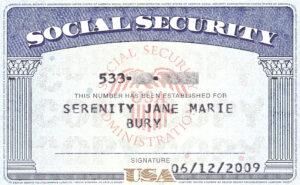 Social+Security+Card+Blank   General   Social Security inside Ssn Card Template