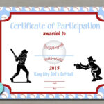 Softball Certificate Templates Free - 10+ Professional inside Softball Certificate Templates Free