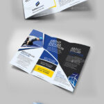 Solar Panel Trifold Double Sided – Brochures Print Templates Within Double Sided Tri Fold Brochure Template