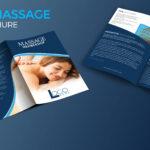 Spa And Massage Bio Fold Brochure Template Regarding Membership Brochure Template