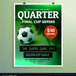 Sports Flyer Design Invitation Card Template Intended For Free Sports Card Template