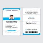 Staff Id Badge Template Unique Free Card Word Durunrasgrup Inside Free Id Card Template Word