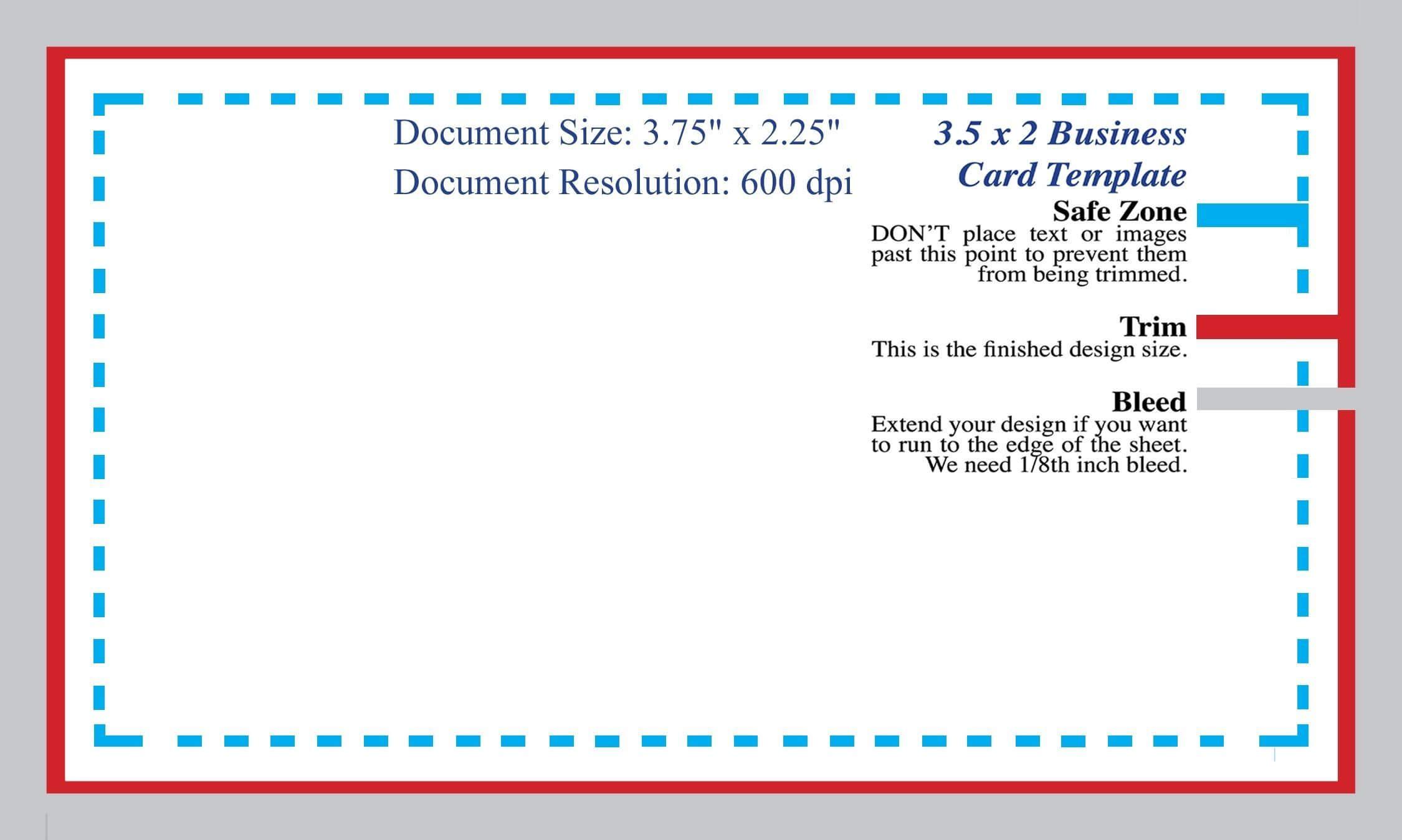 Standard Business Card Blank Template Photoshop Template Intended For Business Card Size Photoshop Template