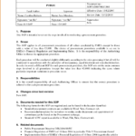 Standard Operating Procedure Template Wordee Word 2010 Free Pertaining To Free Standard Operating Procedure Template Word 2010