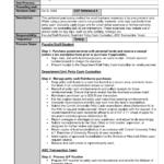 Standardg Procedure Handbook Procedures Template Word Awful Inside Free Standard Operating Procedure Template Word 2010