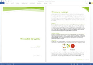 Starting Off Right: Templates And Built-In Content In The pertaining to Fact Sheet Template Microsoft Word