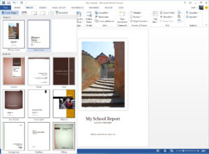 Starting Off Right: Templates And Built-In Content In The within Microsoft Word Cover Page Templates Download