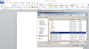 Steps To Enable Bi Publisher Add-In Menu In Microsoft Office regarding Word 2010 Templates And Add Ins