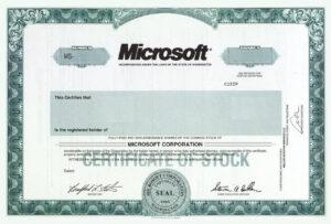 Stock Certificate Template – Www.toib.tk intended for Corporate Share Certificate Template