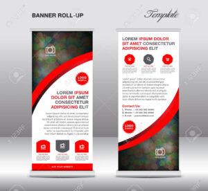 Stock Vector | Banner Design Samples | Banner Stands in Banner Stand Design Templates