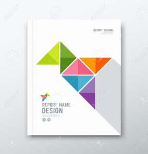 Stock Vector | Graphic Design | Cover Page Template, Cover in Cover Page For Annual Report Template