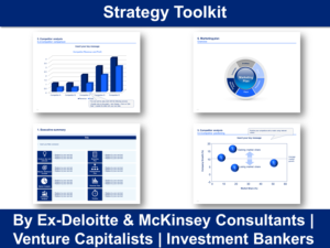 Strategy Toolkit In Powerpoint & Excel  Ex-Mckinsey with Strategy Document Template Powerpoint