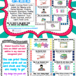 Student Rewards Punch Cards   Back To School: Ideas Inside Reward Punch Card Template