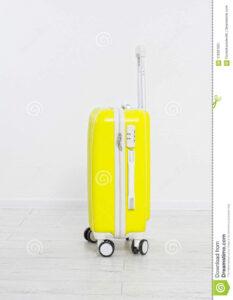 Suitcase Isolated On White Background .summer Holidays within Blank Suitcase Template