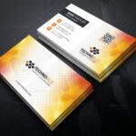 Sun Professional Corporate Visiting Card Template 001338 With Professional Name Card Template