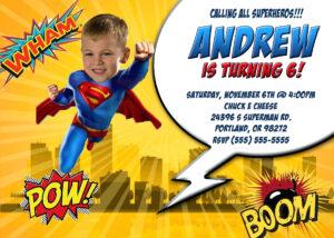 Superman Birthday Card Template Lovely Luxury – Wovensheet.co within Superman Birthday Card Template
