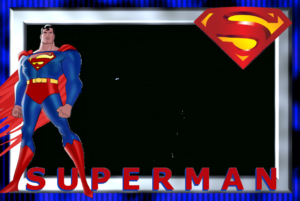 Superman Theme Birthday Invitation Template Bday High with regard to Superman Birthday Card Template