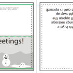 Supplying Greeting Card Artwork For Print   Www For Quarter Fold Greeting Card Template