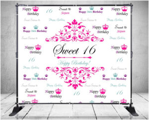 Sweet 16 Banner Template – 10+ Professional Templates Ideas for Sweet 16 Banner Template