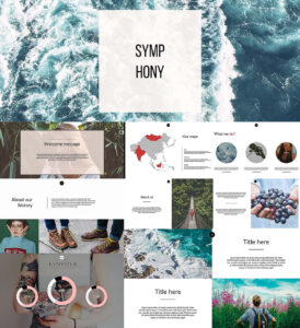 Symphony Powerpoint Templates | Free Download inside Powerpoint Templates Tourism