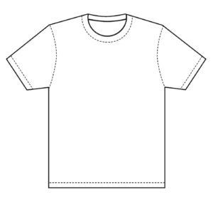 T-Shirt Template | Design T Shirt Template, This Is Great with Blank T Shirt Outline Template