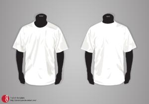 T-Shirt Template Updatejovdaripper.deviantart with regard to Blank Tshirt Template Pdf