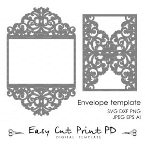 Tags] | Cricut | Wedding Invitation Card Template, Laser Cut pertaining to Silhouette Cameo Card Templates