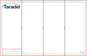 Taradel: Brochures Templates Regarding 4 Fold Brochure Template