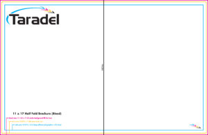 Taradel: Brochures Templates throughout Quad Fold Brochure Template