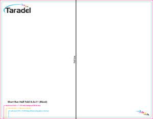 Taradel: Brochures Templates within 8.5 X11 Brochure Template