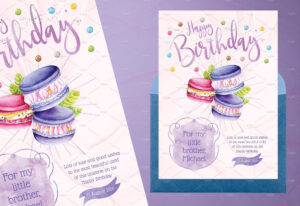 Tasty Birthday Cards For Kidsidesignarium On pertaining to Birthday Card Collage Template