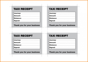 Taxi Receipt Atlanta – Selo.l-Ink.co Taxi Invoice Template for Blank Taxi Receipt Template