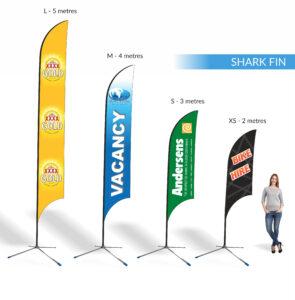 Teardrop | Shark Fin | Block | Banners | Expressway Signs intended for Sharkfin Banner Template