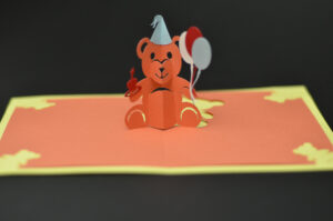 Teddy Bear Pop Up Card: Tutorial And Template – Creative Pop throughout Teddy Bear Pop Up Card Template Free
