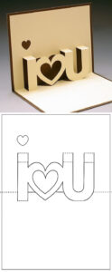 Template Carte A Decouper I Love You | Craft Ideas pertaining to I Love You Pop Up Card Template