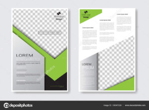 Template Design Brochure Set, Annual Report, Magazine for Ind Annual Report Template
