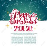 Template Design Merry Christmas Banner. Happy Holiday Brochure.. Pertaining To Merry Christmas Banner Template