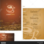 Template Designs Menu Vector & Photo (Free Trial) | Bigstock Inside Coffee Business Card Template Free