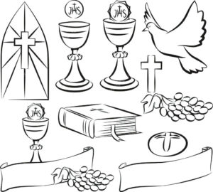 Template: First Communion Banner Template Intended For First for First Holy Communion Banner Templates