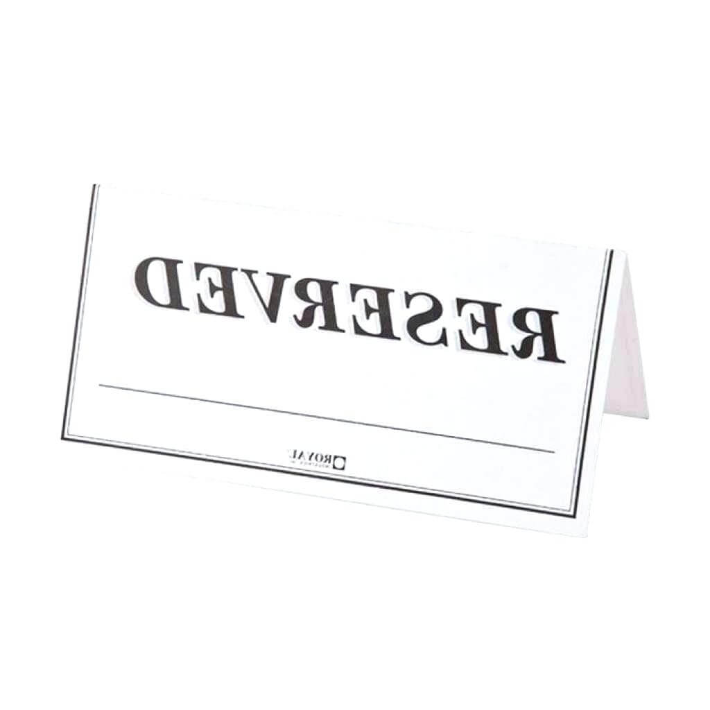 Template: How To Create Large Name Tent Cards C Line Inside Name Tent Card Template Word