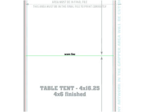 Template: How To Create Large Name Tent Cards C Line within Product Line Card Template Word