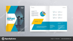 Template Layout Design Cover Page Company Profile Annual inside Cover Page For Annual Report Template