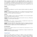Template Of A Report Writing, College Paper Sample – Tete De Within Template On How To Write A Report